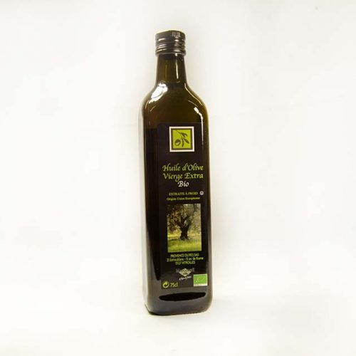 Huile Olive Vierge Extra BIO 75cl