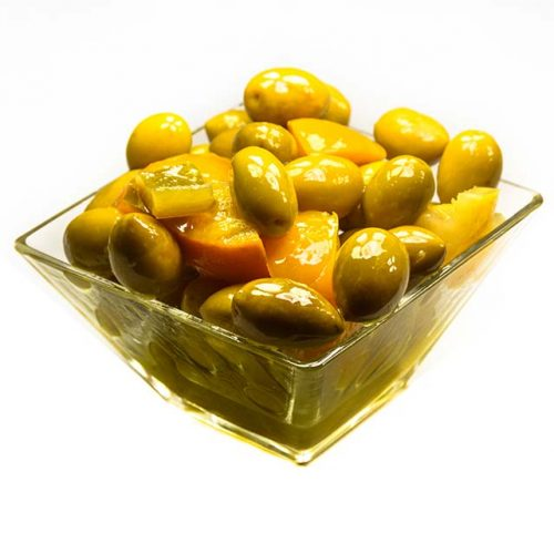 Olives au citron